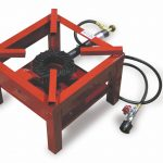 Omcan (FMA) 'Burner, countertop, propane, 15-1/2″ x 15-1/2″ x 11″, 40,000-60,000 BTU, CSA certified