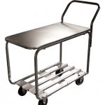 Omcan (FMA) Steel Stock Cart Model 4700A – 500 Lb Capacity