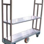 Omcan (FMA) 'Utility Cart, 63″ x 16″ x 60″, 2500 lbs. capacity, steel construction