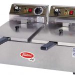 Fleetwood Two Baskets Double Well Electric Fryer 220/60/1