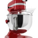 Kitchenaid 6 qt Bowl-Lift Stand Mixer w/Pouring Shield – White