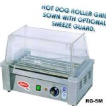 Fleetwood Hot Dog Roller Grill – 5 Rollers