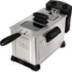 FoodSaver Game Fryer Deep Fryer 3.7 Litre Stainless Steel Immersion Fryer – Rated Consumer Reports #1