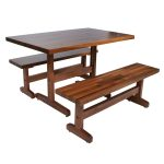 John Boos Walnut Am Farm Bench 48X12X1.5WAL-AM-FARM-BNCH-48