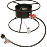 King Kooker Heavy Duty 12″ Portable Propane Outdoor Cooker with 17″ Top, 54,000 BTU