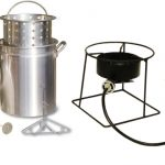 King Kooker 12″ Portable Fry, Boil, and Steam Outdoor Cooker, 38,000 BTU