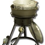 King Kooker 16″ Bolt together Outdoor Cooker with 6 Qt. Pot and Lid