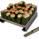 King Kooker 36 Hole Jalapeno Rack with Corer