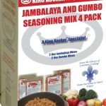 King Kooker Gumbo and Jambalaya Seasoning Mix 4 Pack