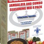 King Kooker Gumbo and Jambalaya Seasoning Mix 4 Pack