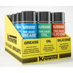 Krowne Metal Food Grade Lubricants 12 Can Display Case