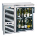 Krowne Metal 36″ Self-Contained One Door Back Bar Cooler BS36L-BSB
