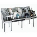 Krowne Metal Royal 1800 Series 72″ Recessed Drainboard KR18-W72C-10