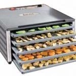 LEM Dehydrator & Slicer Bundle #1 – LEM 5 Tray Countertop Dehydrator w/Digital Timer + LEM 10″ Commercial Grade Meat Slicer