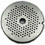 1/8″ Carbon Steel Grinder Plate for #20/22 Grinders