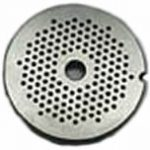 1/8″ Stainless Grinder Plate for #20 and #22 Grinders
