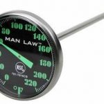 MAN LAW BBQ series Instant Read Thermometer w.Glow in the dark dial