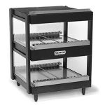 NEMCO Horizontal, Dual Shelf, 18″, Black