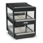 NEMCO Slanted, Dual Shelf, 18″, Black