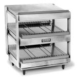 NEMCO Slanted, Dual Shelf, 24″, Stainless