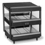 NEMCO Slanted, Dual Shelf, 24″, Black