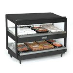 NEMCO Slanted, Dual Shelf, 30″, Black