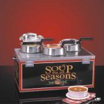 NEMCO Soup Merchandiser, Triple 4 Qt Well, W/O Header