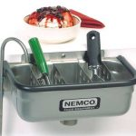 NEMCO Spadewell, Ice Cream Dipper Station, 13″ (Divider Sold Separately)