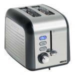 Nesco 2 Slice Toaster Gry/Chrm