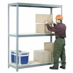 Nexel 36X96X84 3 Level Carton Gravty Flow Rack