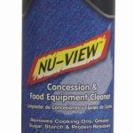 Paragon Nu-View Concession and Food Equip Cleaner-Aerosol Can-NEW!