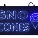 Paragon LED Sno Cone Lighted Sign