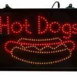 Paragon LED Hot Dog Lighted Sign