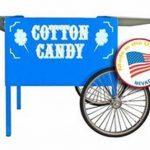 Paragon Blue Deep Well Cotton Candy Cart