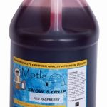 Motla Sno Cone Syrup – Red Raspberry (Gallon)