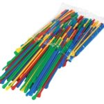 Paragon Spoon Straws – multicolor pack