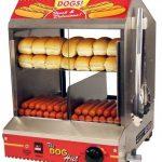 Paragon Dog Hut Hot Dog Steamer
