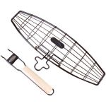 Jim Beam Jb0124 Extra-large Fish Grill Basket
