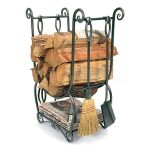 Achla Designs Country Firewood Holder with Tools