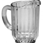 Royal Industries Pitcher 32 Oz San Plastic