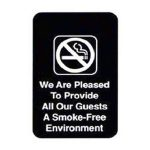 Royal Industries Sign 6X9 Smoke-Free Envirom