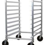 Royal Industries Rack Pan Rack 9 Tier Alum.