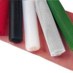 Royal Industries Bar Shelf Liner 24″X40′ Red