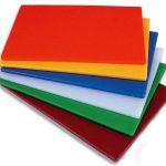 Royal Industries Board-Cut 15X20X1/2 Red