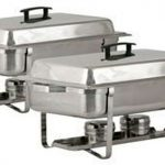 Royal Industries Two Welded Frame Chafers