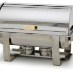 Royal Industries Chafer W/Roll Top Cover