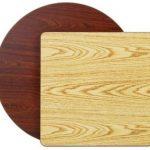 Royal Industries Table Top Oak/Walnut 30X42