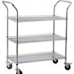 Royal Industries Cart 18″X36″ 3-Shelves