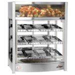 Fleetwood Food Warmer Display Case – Triple Shelf 12 Pans