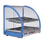 Skyfood 18″ Food Warmer Display Case – 2 Shelf – Blue (1) FWD2-18B